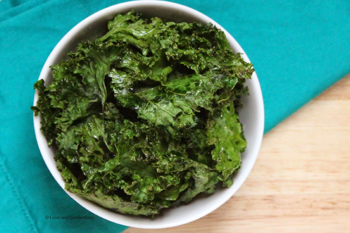 Kale Chips by Love and Confections