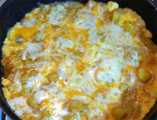 Patatesli Omlet | Yemek Tarifim