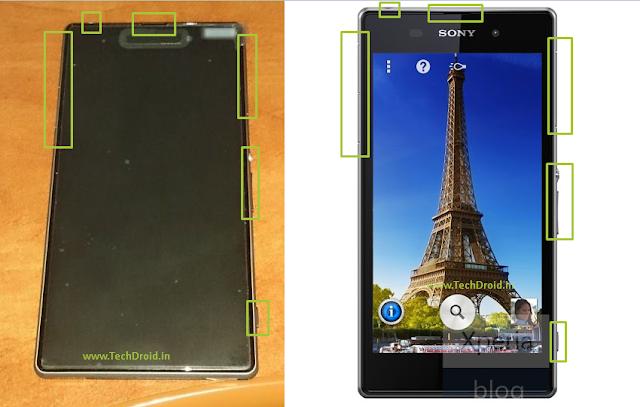 Sony i1 Honami Press Render Compared Leaked Image