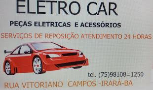 ELETRO CAR PEÇAS ELEÁTICAS E ACESSÓRIOS-ATENDIMENTO 24 HORAS