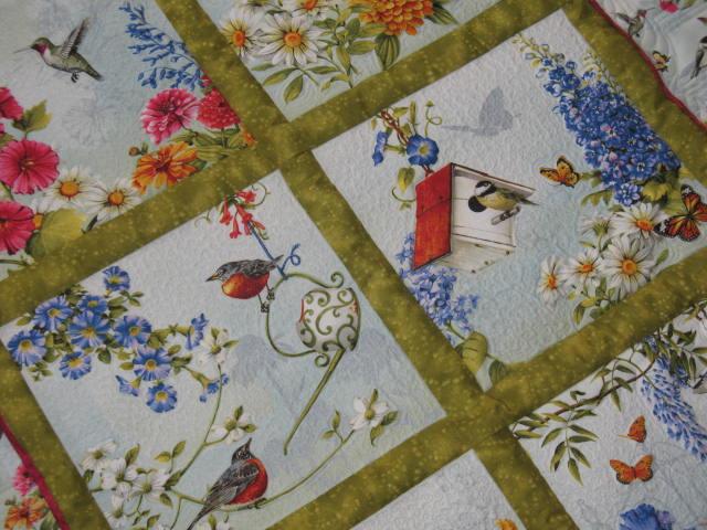 Rebeccas Designs Panels For Uniquely Yours Quilt Shop