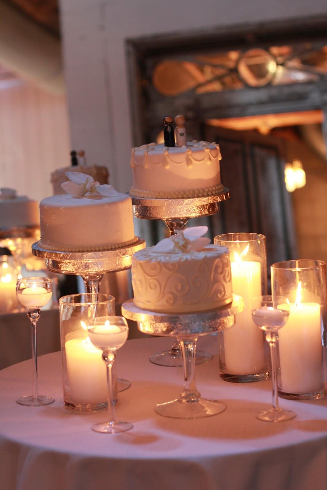 Three Step Wedding Cake