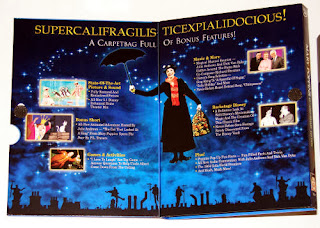 mary poppins 40th anniversary dvd set booklet