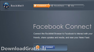 Social Media Web Browser - Rockmelt
