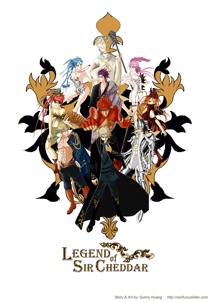 My Creation --- Legend of Sir Cheddar