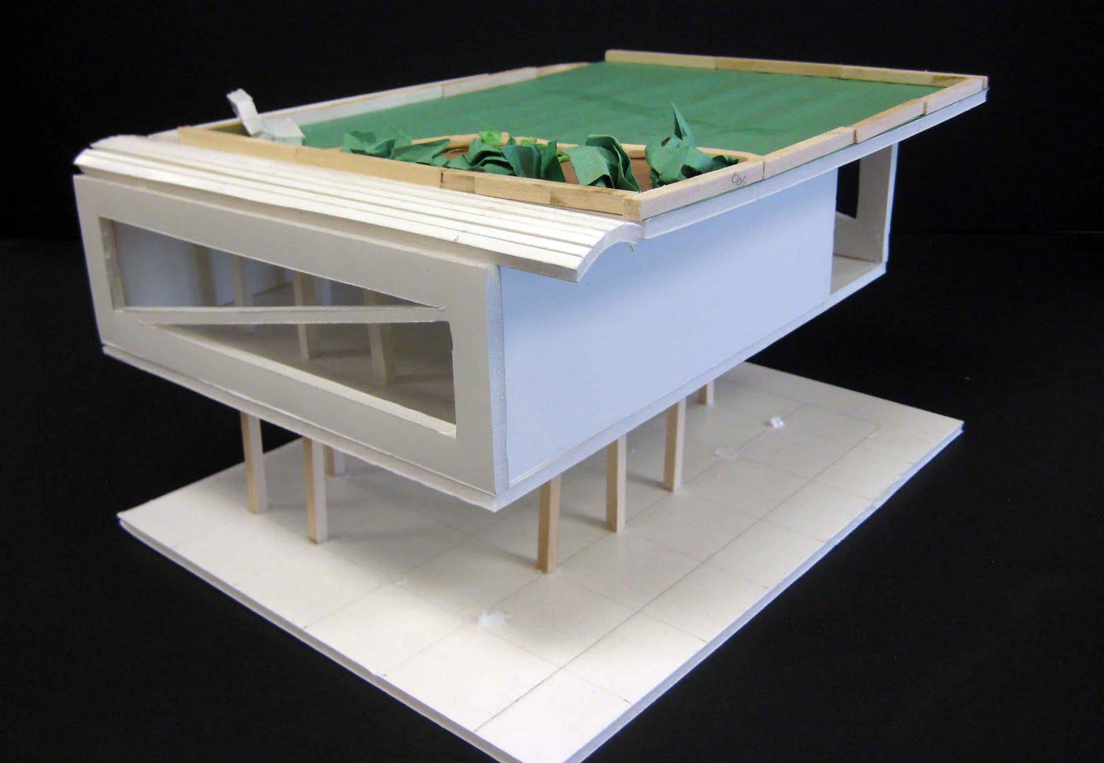 mr z student work design a building based on le corbusier 39 s 5 points of architecture. Black Bedroom Furniture Sets. Home Design Ideas