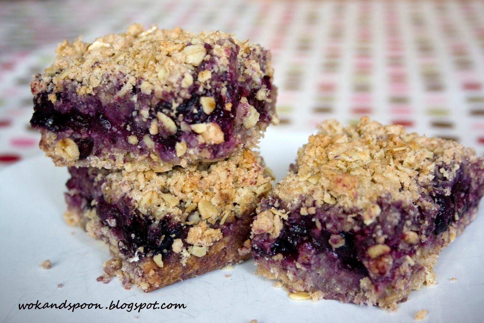 Blueberry Crumb Bars Recipes — Dishmaps