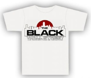 Black Wall Street Logo And Shirts