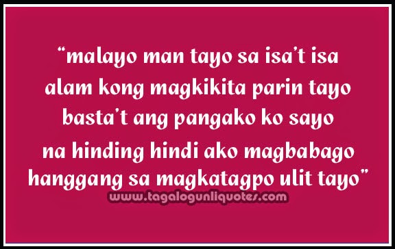 cute distance love quotes tagalog quotesgram