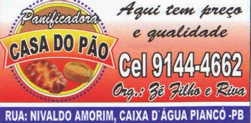 PANIFICADORA CASA DO PÃO