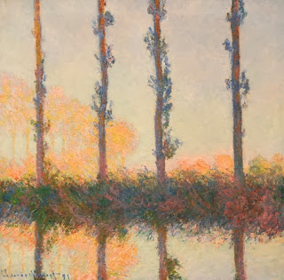 Claude Monet | Les 4 arbres