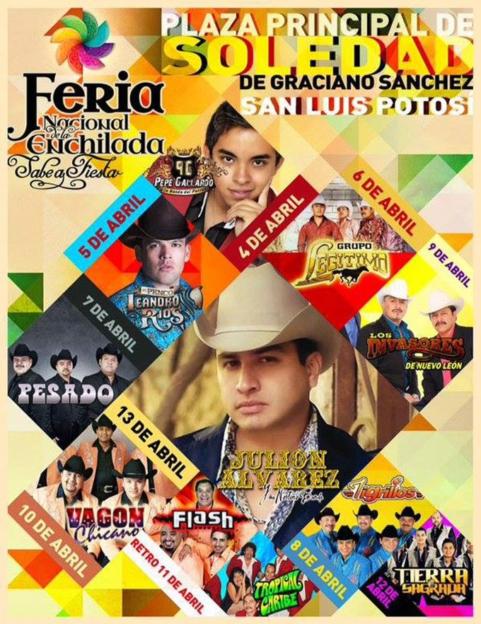 feria enchilada potosina 2015
