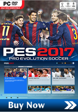 download dan install Pes 2017 full update official Patch License dlc terbaru