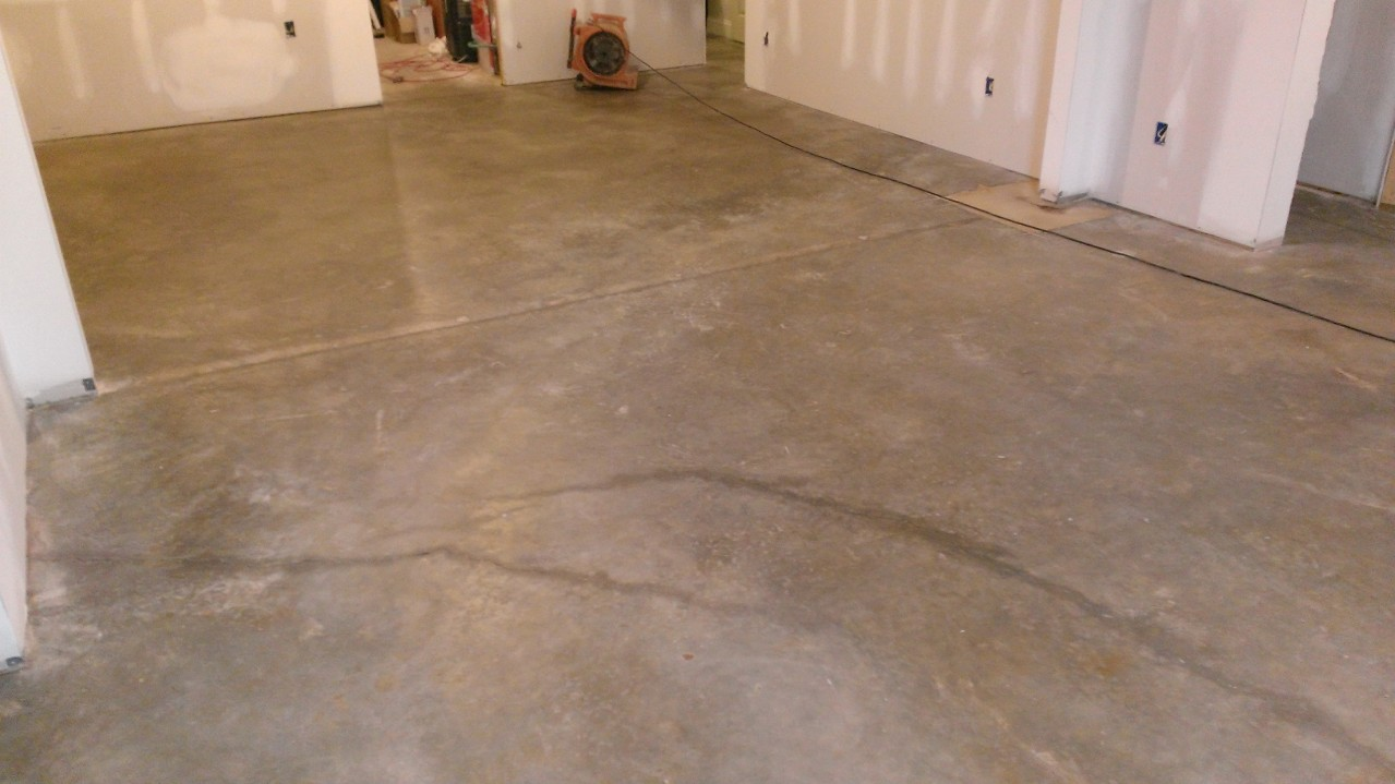 how to finish a basement and home theatre concrete floor cleaned