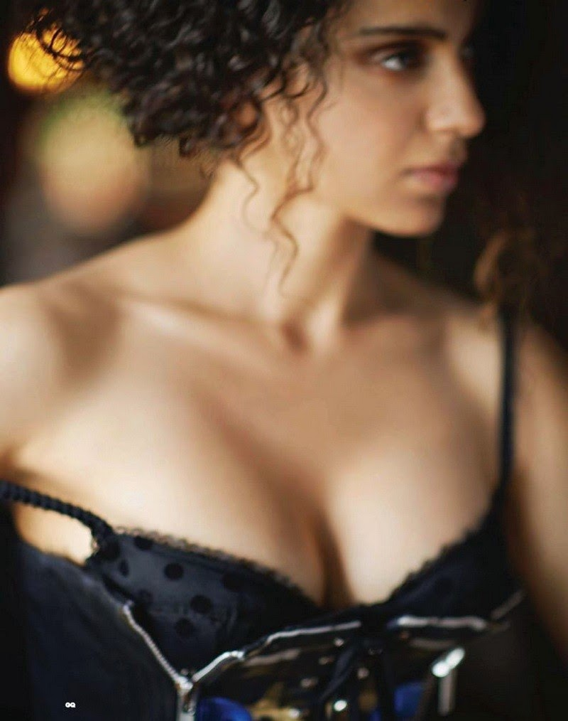 Kangana Ranaut Hot Stills For GQ Magazine - MASALA GALLERY