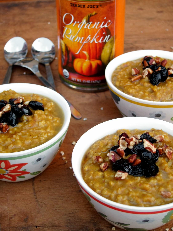 The Oatmeal Artist: Oatmeal Recipes for Autumn Lovers
