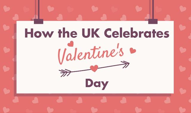 how the uk celebrates valentine s day infographic visualistan. Black Bedroom Furniture Sets. Home Design Ideas