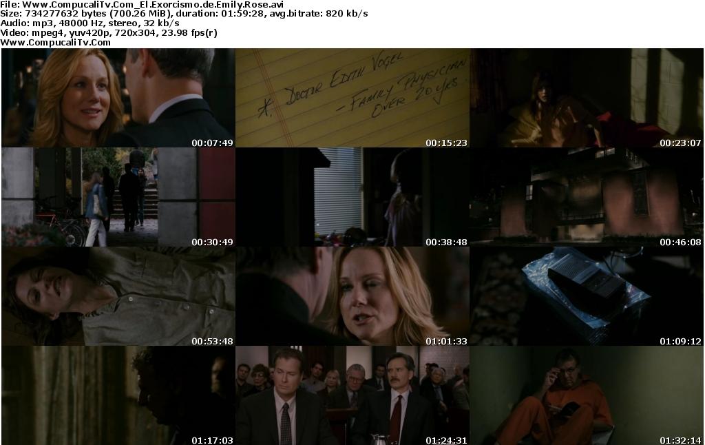 El Exorcismo de Emily Rose [DVDRip] Español Latino Descarga [1 Link]