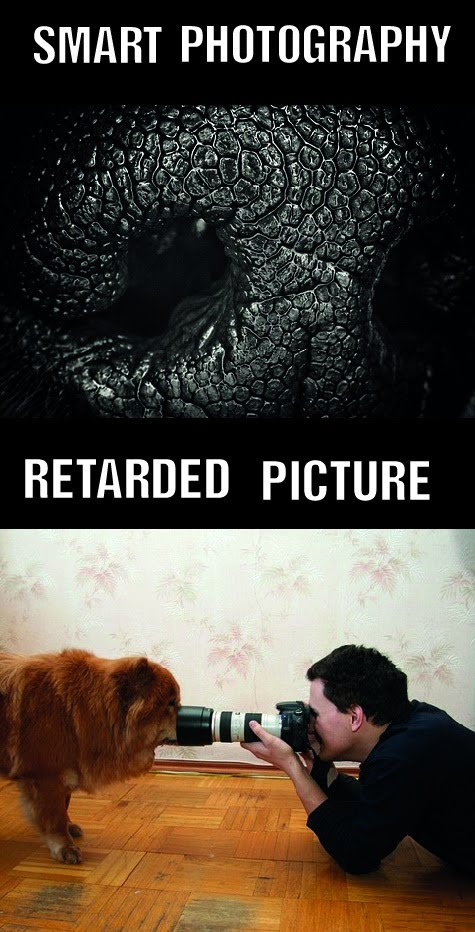 Smart Photography - Retarded Picture