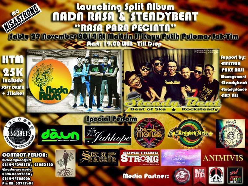 """Event : Launcing Split Album """"Rasa Para Pecinta"""""""