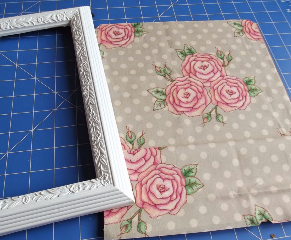 frame fabric pocket tutorial