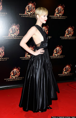 Jennifer Lawrence, Jennifer Lawrence sideboob, Jennifer Lawrence nude, Hunger games, Catching Fire, Catching Fire premiere