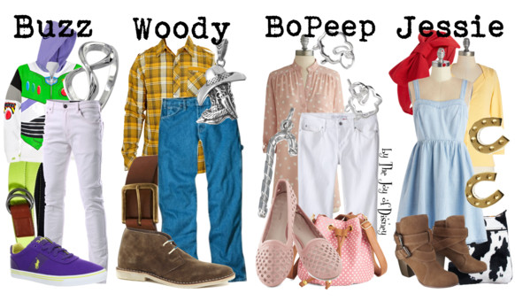 Toy Story Characters, Disney Fashion