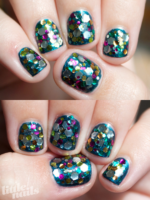 afternoon-picnic-kleancolor-glitter-bomb-little-nails