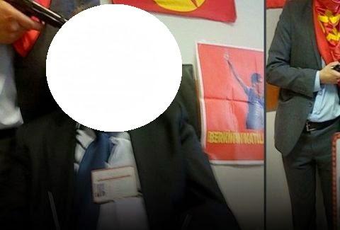 ΕΙΚΟΝΕΣ ΠΟΥ ΠΡΟΚΑΛΟΥΝ ΑΝΑΤΡΙΧΙΛΑ: Ακροαριστεροί κρατούν όμηρο εισαγγελέα και απειλούν να τον σκοτώσουν! [photos]