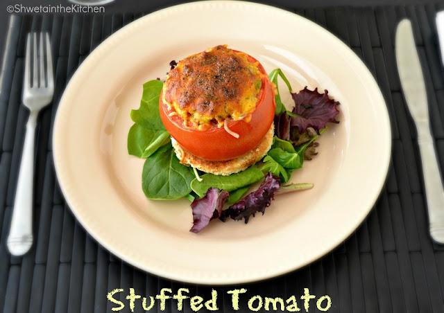 stuffed tomato - stuffed tomatoes - one pot meal