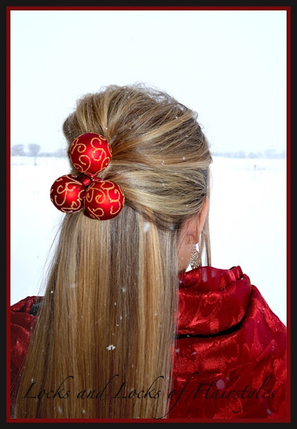 sweet & funny christmas hairstyles