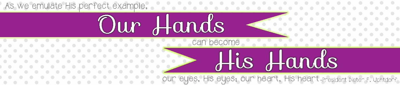 Our Hands, His Hands
