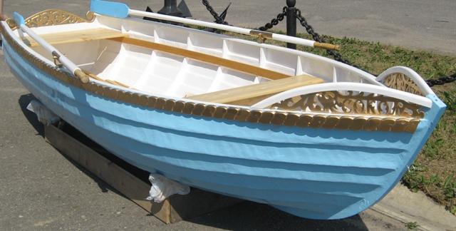 Лодка самодельная пластиковая
