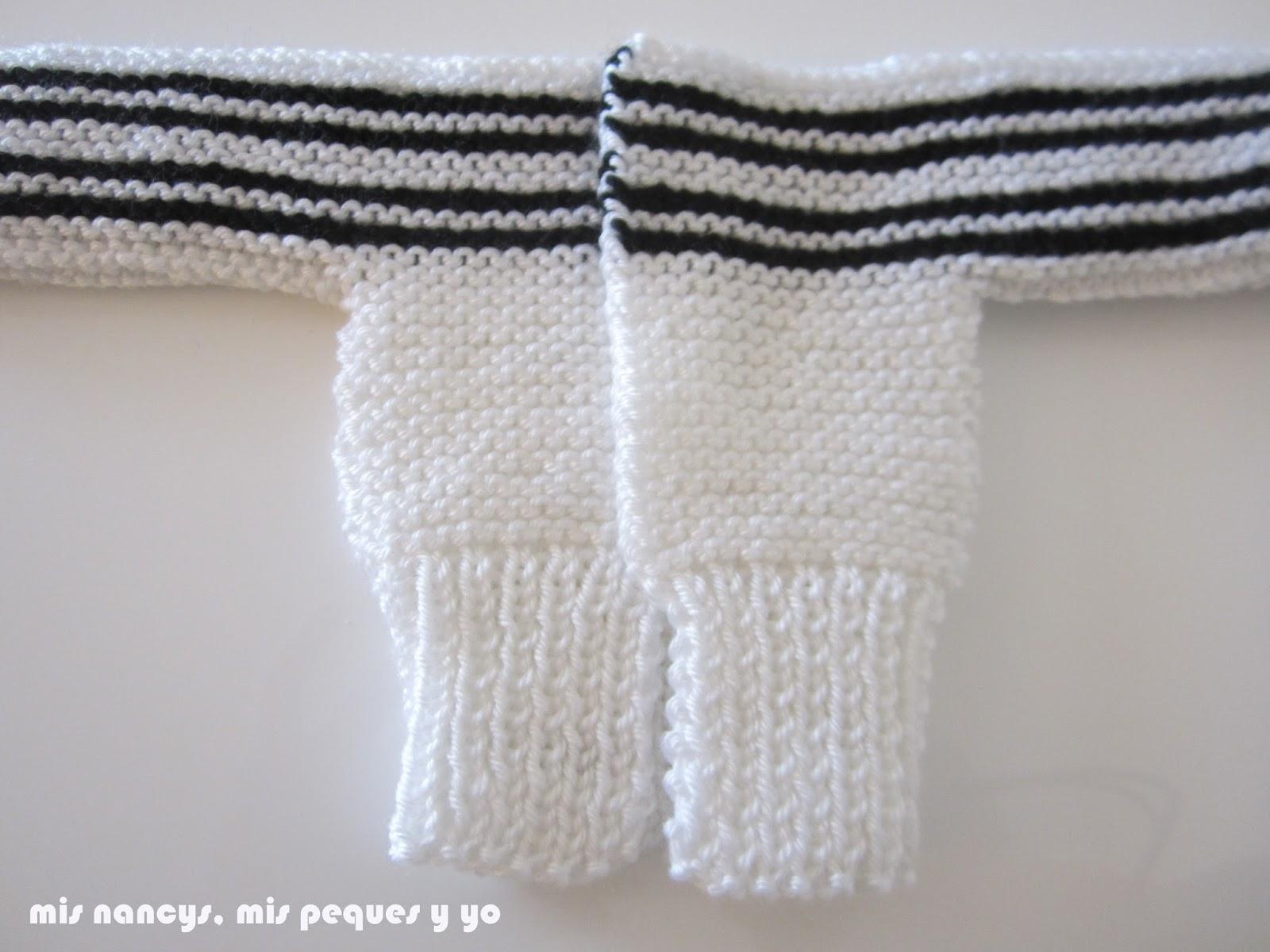mis nancys, mis peques y yo, tutorial jersey de lana para Nancy, parte delantera, jersey ya cosido