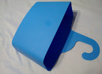 hanging plastic storage bin