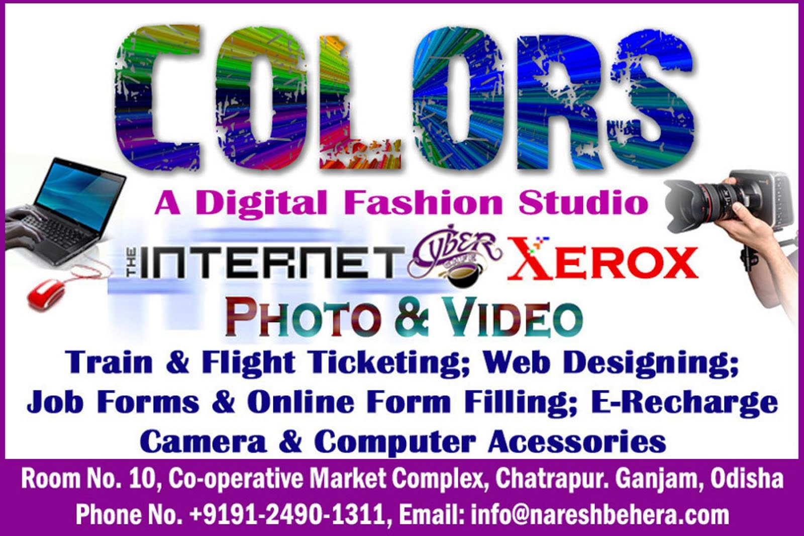COLORS - A Digital Fashion Studio