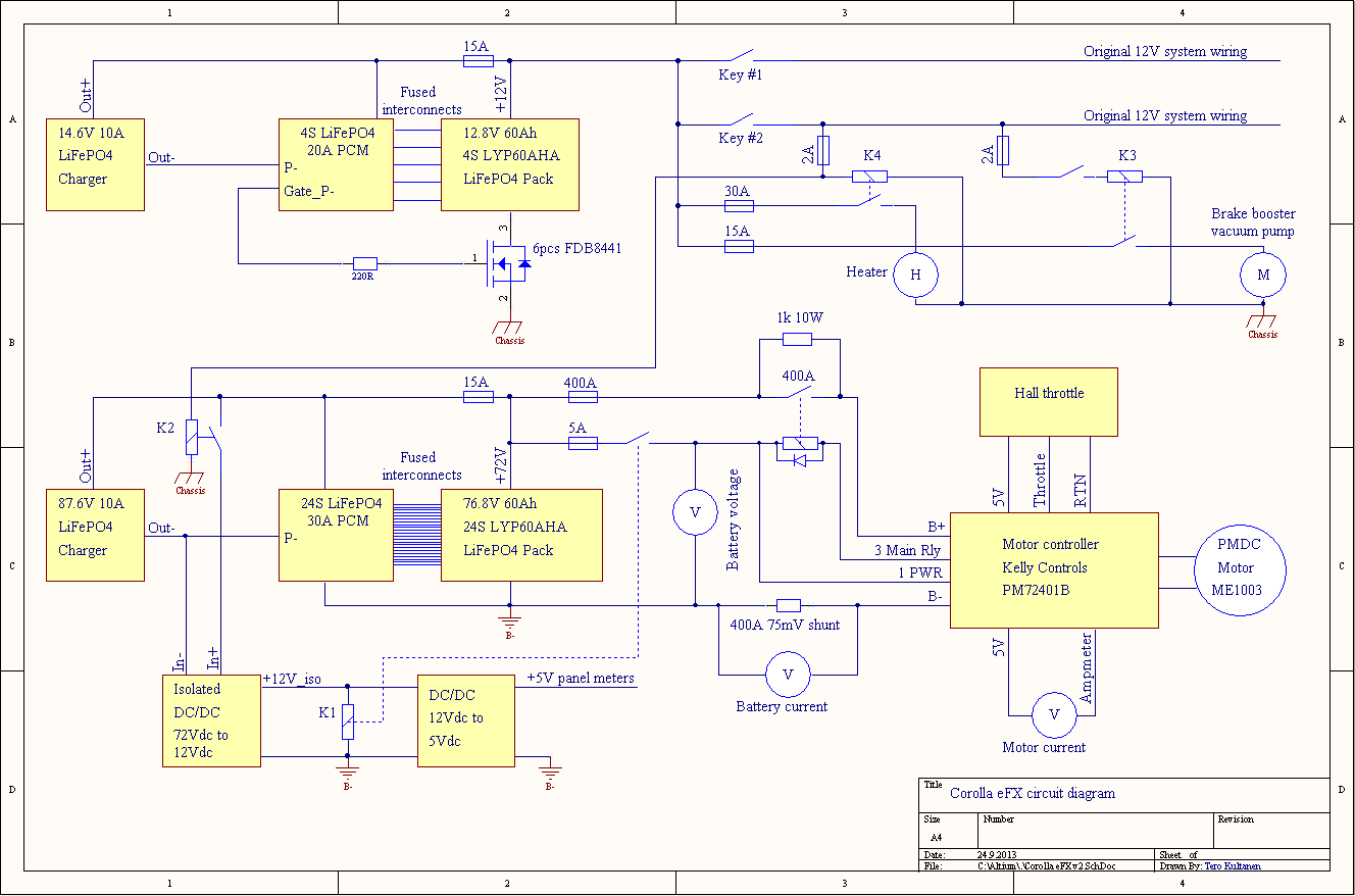 Corolla Efx 87 2013 Toyota Altis Meter Wiring Diagram The Changes Were Governed By Idea Of Not Needing To Alter Original Circuit Shown Above Shows Current State