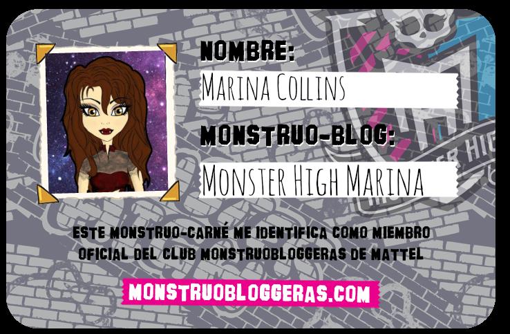 ¡Mi carnet en monstruobloggeras!