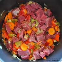 etapes recette ragout boeuf legumes