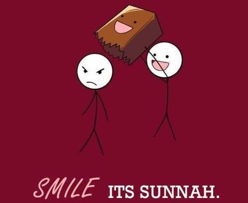 Gülümsemek Sünnettir