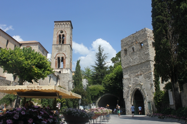 town of ravello, amalfi coast, italy