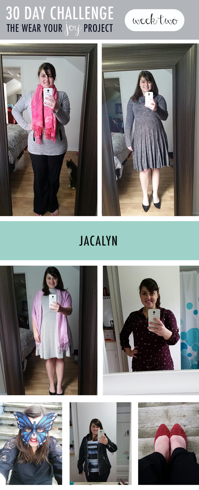 Wear Your Joy Project : Week 2 : Jacalyn