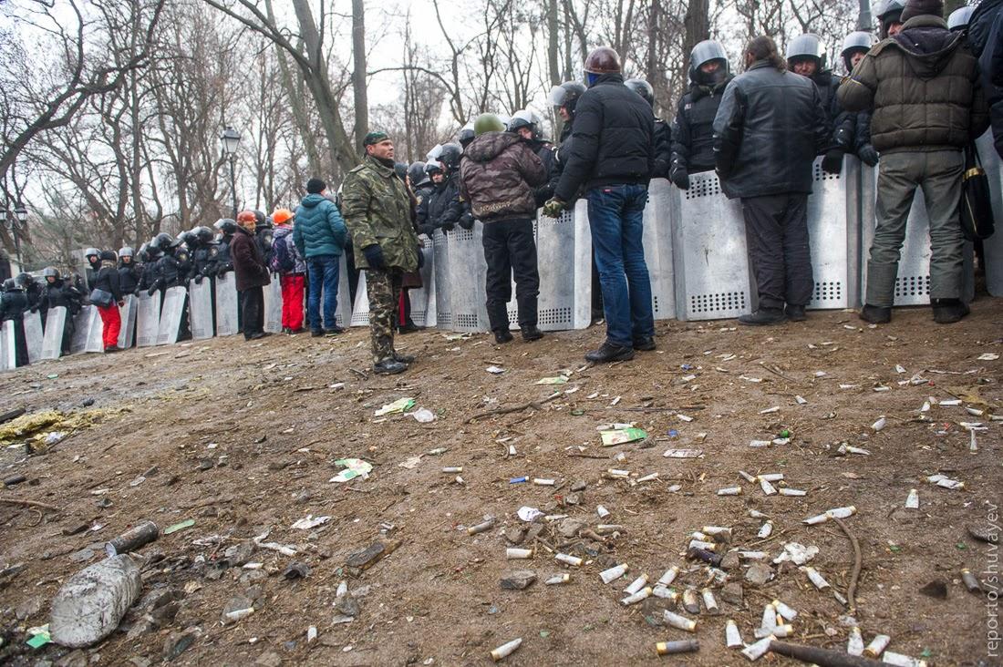 Самые агрессивные и радикальные - так называемый «правый сектор», украинские националисты