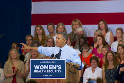 Barack Obama at the Auraria Events Center, Denver, Colorado, August 8, 2012