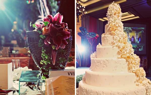 Mẫu bánh cưới đẹp lộng lẫy và cầu kỳ cho tiệc cưới 4