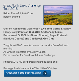 Great North Links Challenge 2016