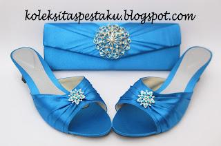 Pesanan Customer Cantik dan Elegant Paket Pesta Biru Tosca Unik