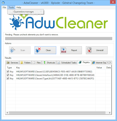 AdwCleaner: Uninstall Toolbar and Adware Securely