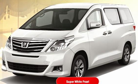 Spesifikasi dan harga Mobil Toyota Alphard