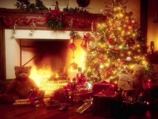 Božićne slike djed Mraz pozadine za mobitekle download